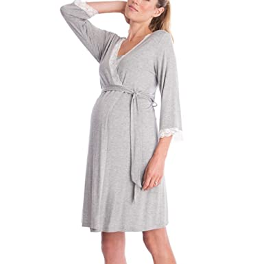 WEIMEITE Maternity Pregnancy and Nursing Nightdress Nightwear Sleepwear  Breastfeeding Nightdress Shirt  Amazon.co.uk  Clothing 338f947a8