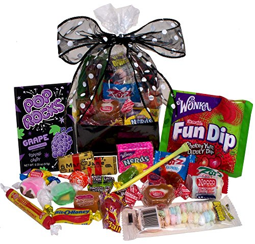 Great Gifts Flashback Fun: Retro Nostalgic Candy Gift Bag