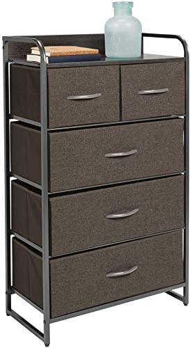 mDesign Tall Dresser Storage Chest