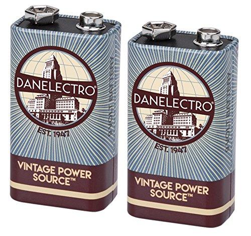 Danelectro DB-2PK Channel Power (Danelectro 9v Batteries)