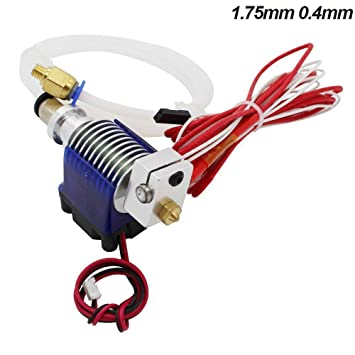 All Metal V6 J-head Hotend Bowden Wade Extruder for 3D Printer 1.75 3mm Filament