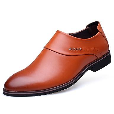 Chaussures de mariage printemps marron homme Z6Dt2wQ