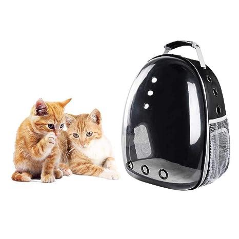 dianhai - Bolsa de Transporte para Jaula de Gato, Mochila portátil para Salir de Mascota