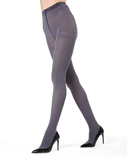 881630796 MeMoi Heather Flat Knit Tights - Beautiful Legwear for Women Navy MO ...