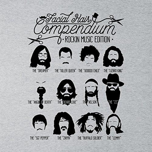 Varsity Facial white Jacket Hair Heather Compendium Grey The Men's Music AX5xq6z