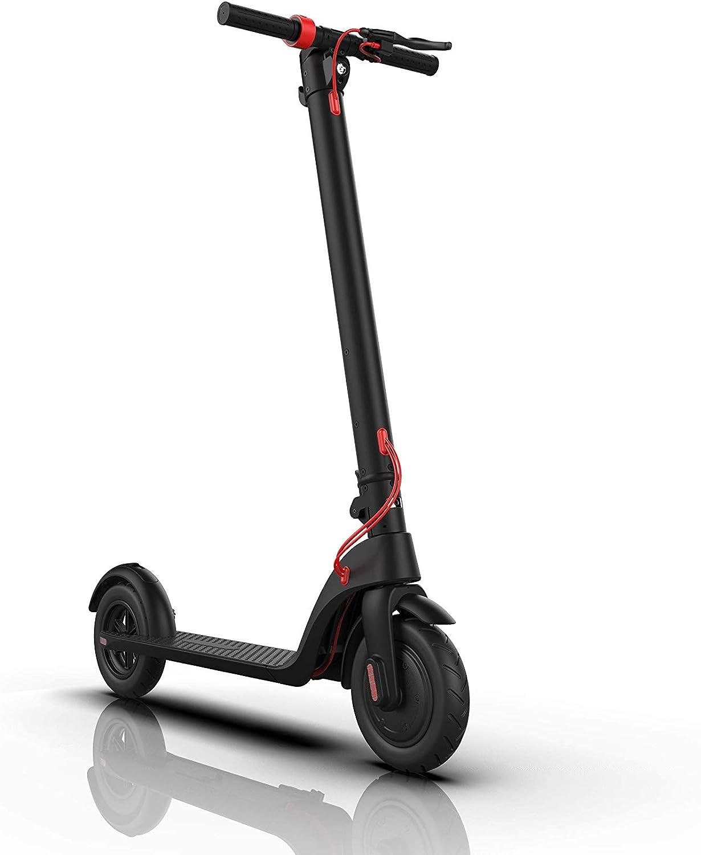 Hi-SHOCK E-Scooter - KIX Pro | Patinete / Scooter Eléctrico con control de crucero & sistema de batería modular | Frenos de disco, luz LED, pantalla LCD, neumáticos de 8.5 pulgadas | URBAN Edition