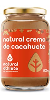 Crema de cacahuete -Natural Athlete- 100% Solo cacahuetes - 100% natural,