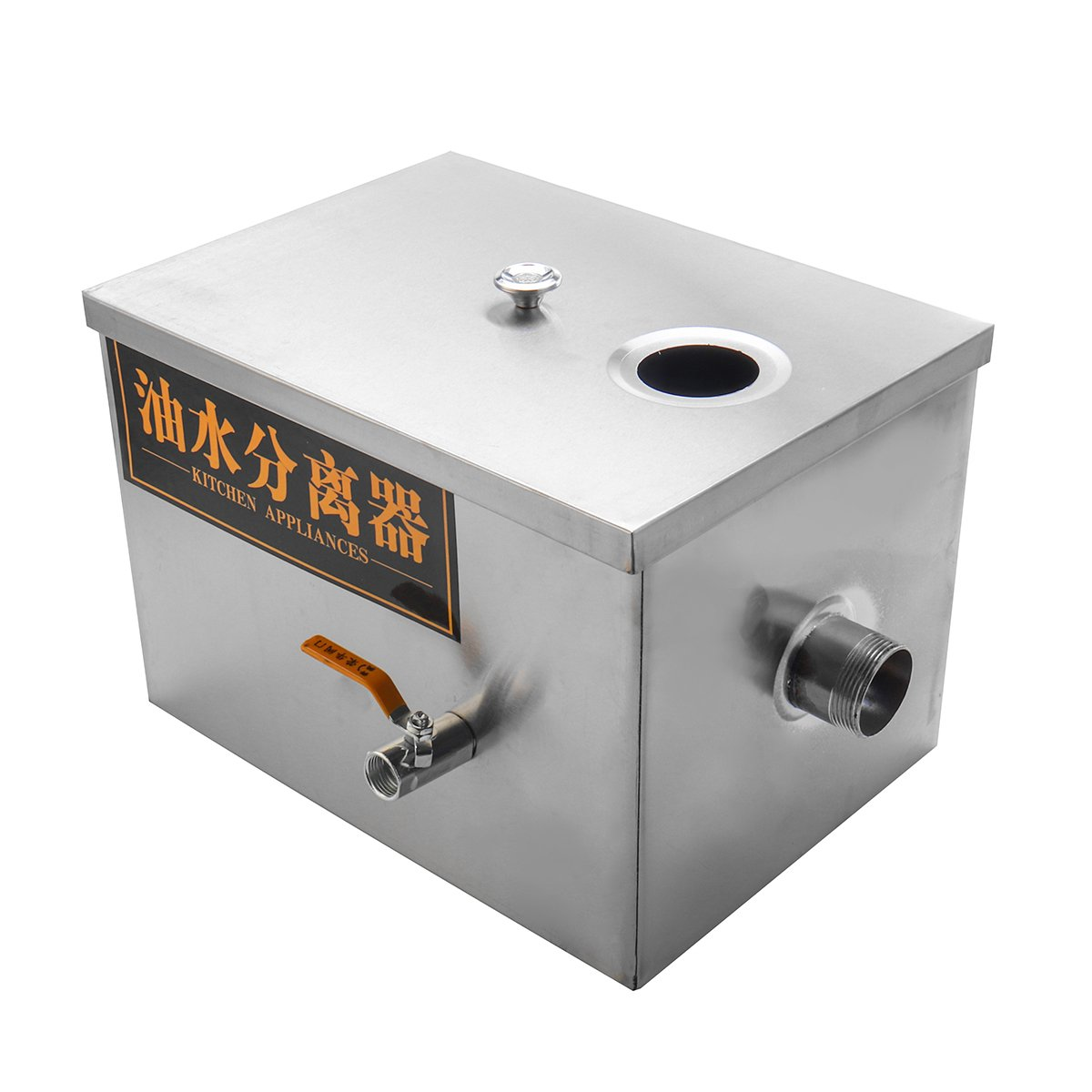 Yingte Commercial Grease Trap Interceptor,Stainless Steel