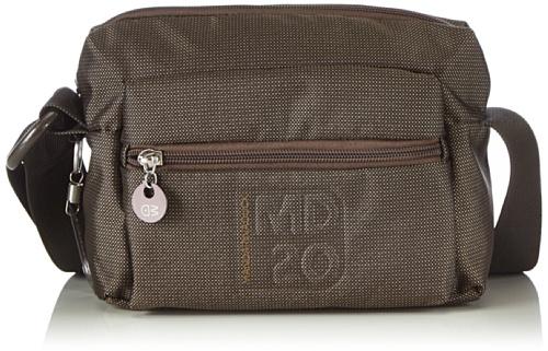 Mandarina Duck MD20 TRACOLLA BLACK - Bolso de hombro para mujer Marrón (Braun (Brown))