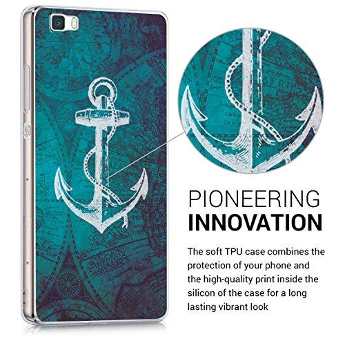 d691ef41274 kwmobile Funda para Huawei P8 Lite (2015) - forro de TPU silicona cover  protector