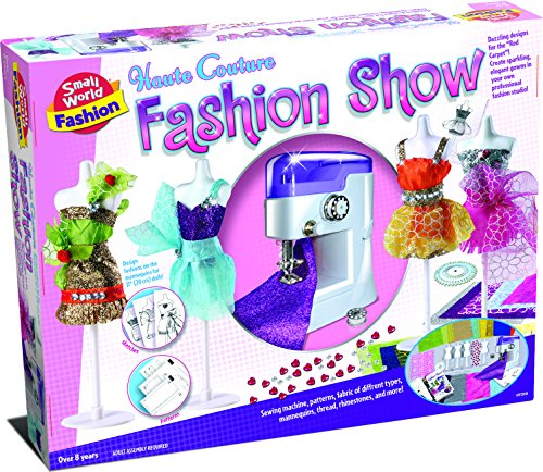 Small World Toys Fashion - Haute Couture Fashion Show Sewing Set