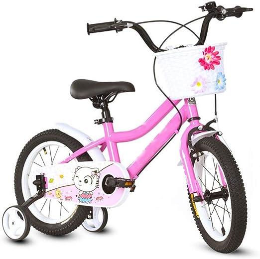 YUMEIGE Bicicletas Bicicletas niños 14 16 18 Pulgadas, El Choque ...
