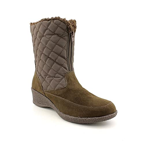 Women's Lonnie Mid-Calf Cold Weather Boots in Brown Size 7