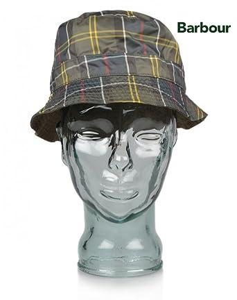 7b0747cc ... 50% off mens barbour reversible packable tartan bucket hat red dress  tartan 40314 61c28