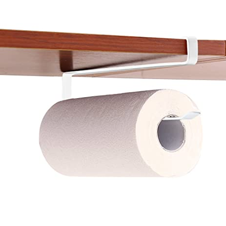 Amazon.com: GeLive Under Cabinet Paper Towel Holder Hand Towel Bar ...
