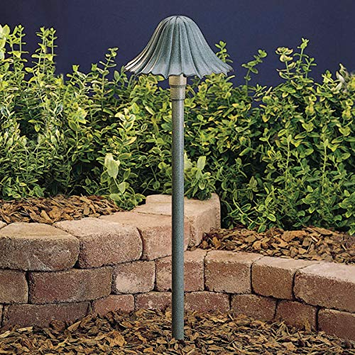 (Outdoor Pendant 1 Light Fixtures with Textured Midnight Spruce Finish WED8 Bulb Type 8