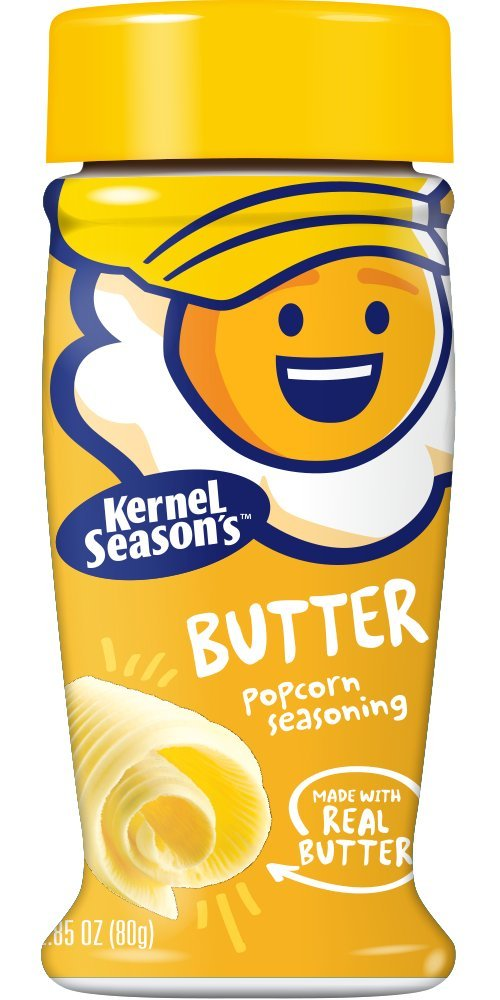 Amazon Com Kernel Season S Popcorn Seasoning Butter 2 85 Ounce Pack Of 6 Mixed Spices And Seasonings Grocery Gourmet Food