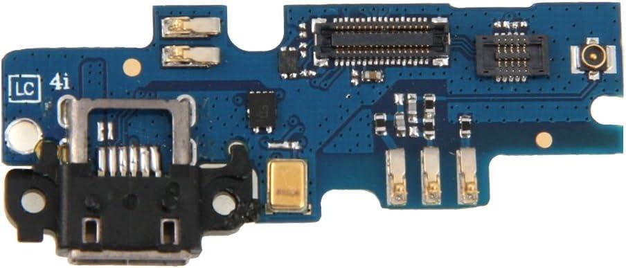 DINGJIA Tablero del Teclado Superior y Cable Flexible del Puerto de Carga for Xiaomi Mi 4i