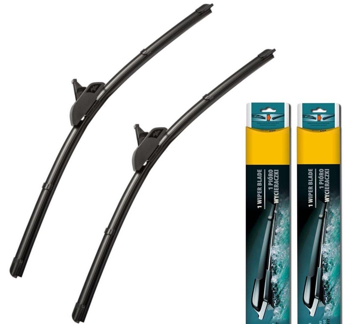 3 BL 2009-2013 - Par de escobillas limpiaparabrisas delanteras Aero planas de 60,96 cm, 48,26 cm (A): Amazon.es: Coche y moto