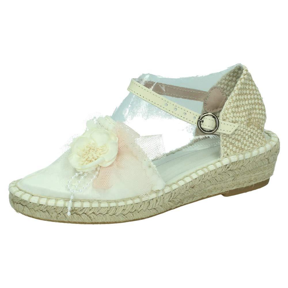 ZOYSAN CZ16 ESPARTEÑAS COMUNIÓN NIÑA Zapato COMUNIÓN: Amazon.es: Zapatos y complementos