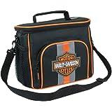 Harley-Davidson Bar & Shield Insulated Lunch Tote, Shoulder Strap, Black 7180537