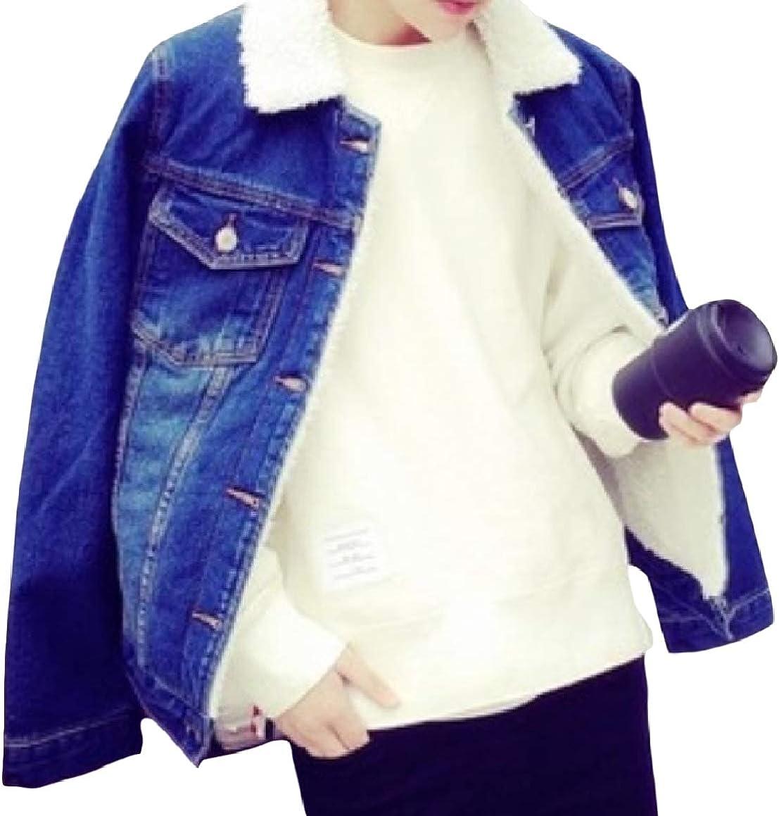 Abetteric Mens Pockets Plus Size Velvet Button Lounge Lapel Coat Jacket