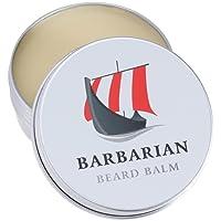 Barbarian Beard Balm 60G per la perfetta Barba Cura il nostro Barba Balsamo vereint Styling + Cura per un geschmeidigen molle Barba con Olio di Argan