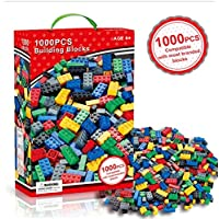 Edu Toys 1000 Pieces Building Blocks Bricks pegs Educational Game Compatible with All Brands