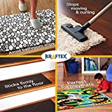 NEW: Original Carpet Tape 90ft Roll, For Rugs, Mats, Pads, Runners [Anti Slip Non Skid Technology] Indoor Gripper Tape Double Sided Adhesive [Works on ANY Floor] Grips Hardwood, Tile, Laminate Floor