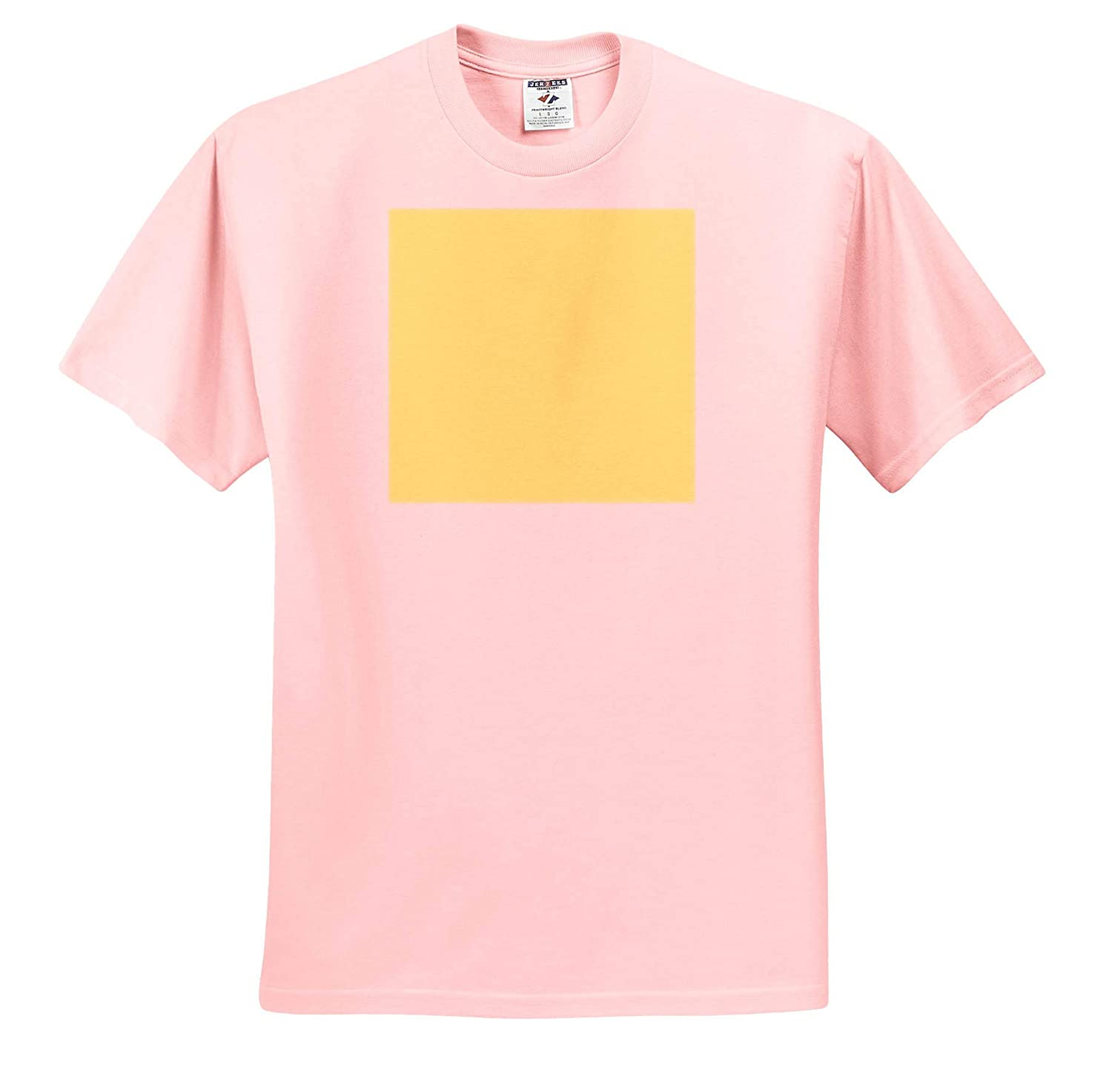 ts/_317397 3dRose Kultjers Colors Adult T-Shirt XL Color Canary Yellow