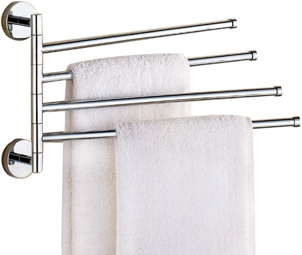 Hoooh Hand Towel Holder for Bathroom D110L40-BN 15-3//4 Inch Brushed Stainless Steel Kitchen Towel Bar Wall Mounted