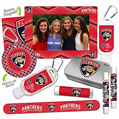 12% OFF—Platinum Variety Set— with 2 Lip Shimmers, Lip Balm SPF 15, Nail File, Mirror, Sanitizer, Lotion, Mint Tin, Magnetic Picture Frame. Gifts for Women, by Worthy.