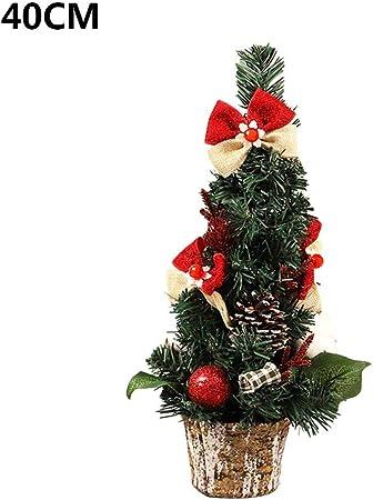 flower205 40 Cm / 60 Cm Mini Mesa con Arbol De Navidad Mini Péndulo Árbol De Navidad Árbol De Navidad De Escritorio Hecho De PVC, Colorido Y Hermoso.: Amazon.es: Hogar