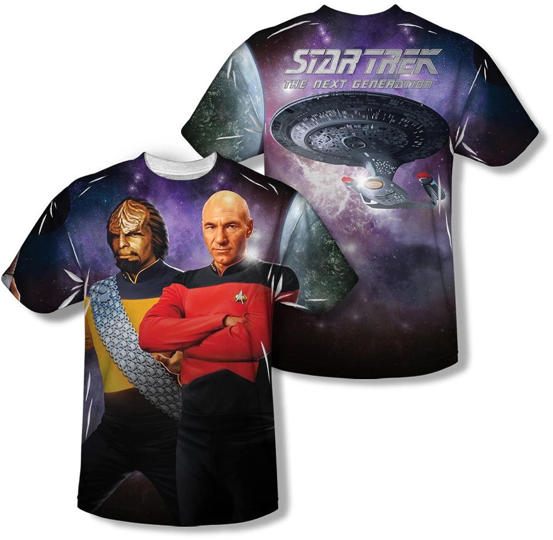 Star Trek - Mens Tng (Front/Back Print) T-Shirt