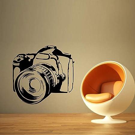 Cámara de Fotos Video Vinilo Pegatinas de Pared para la Sala ...