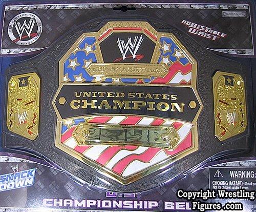 UNITED STATES CHAMPIONSHIP KID SIZE TOY WWE WRESTLING BELT -
