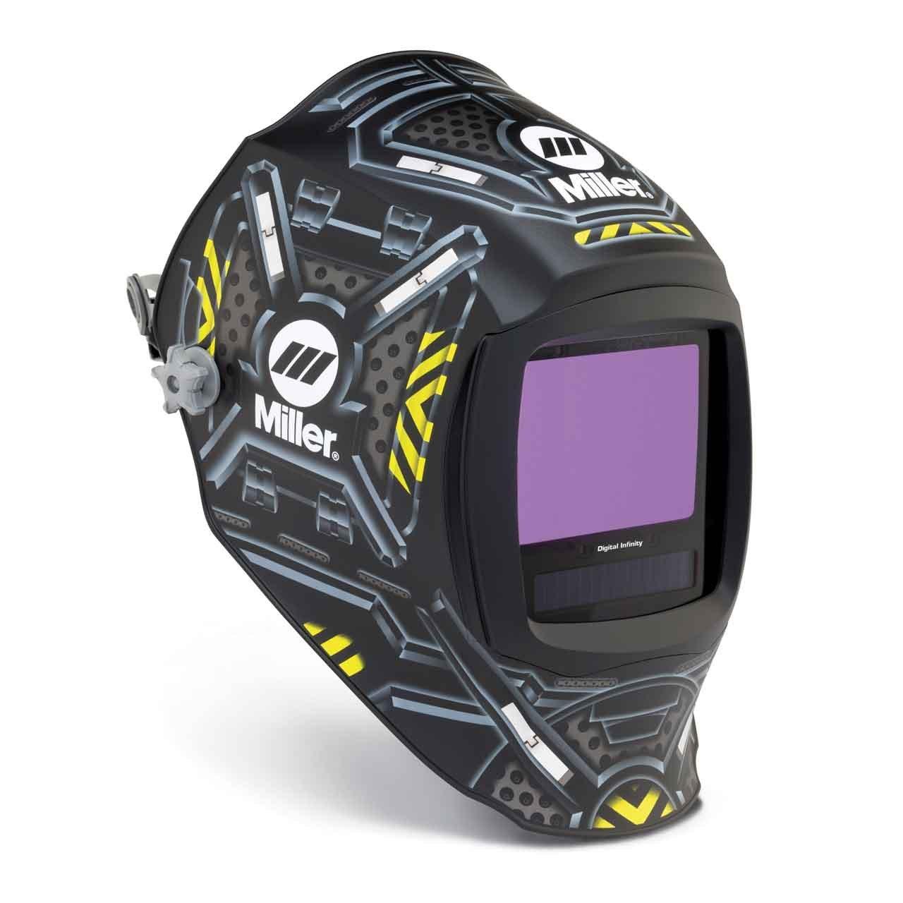 Auto Darkening Welding Helmet, Black