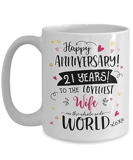 21 Wedding Anniversary Gift: 21st Wedding Anniversary Gifts For Her. 21st Anniversary