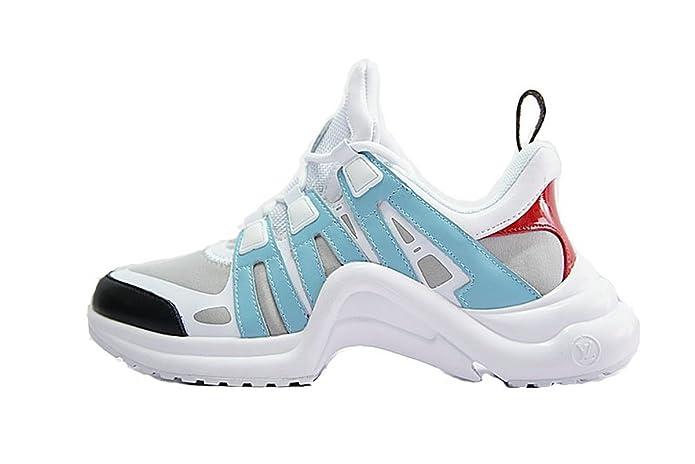 LV Archlight Sneaker Ugly Zapatillas de Gimnasia para Hombre Mujer: Amazon.es: Zapatos y complementos