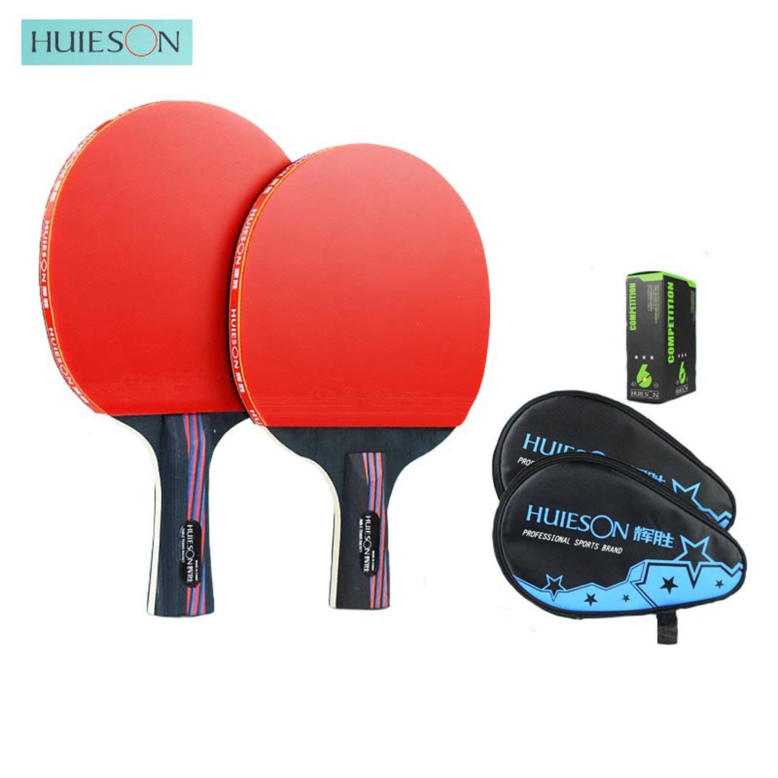 Nano Carbonization木製トレーニングやゲームDefensiveタイプテーブルテニスラケットピンポンパドル B075DFTC5B  knife grip+Penhold Grip