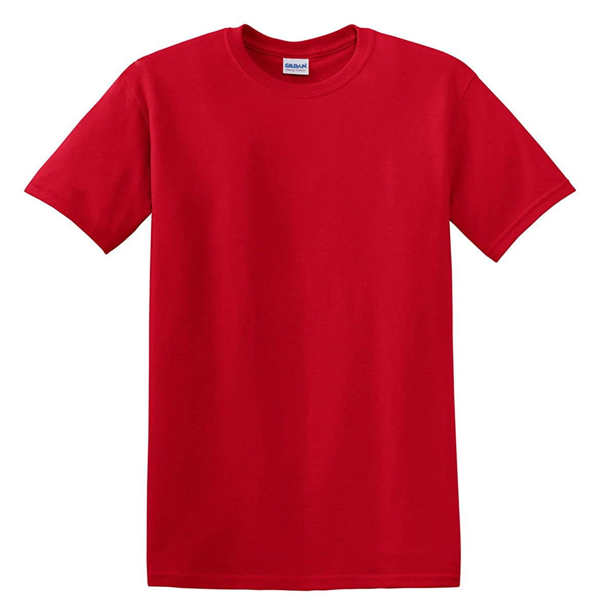 f08f499f9b Gildan Heavy Cotton 5.3 Oz. T-Shirt (G500)- Cardinal Red,Large