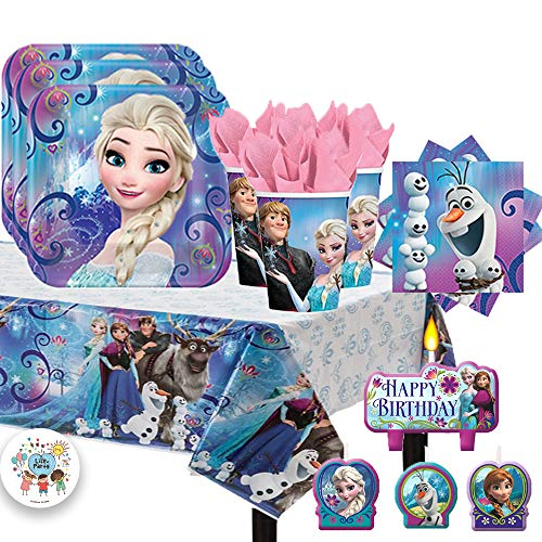 Amscan Frozen Birthday Party Pack for 16