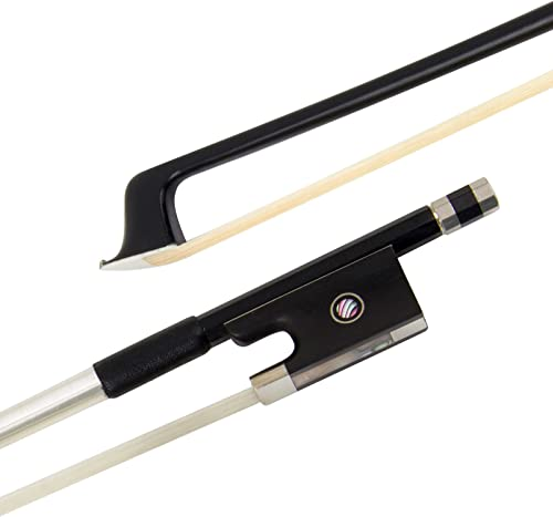 Violin Bow Carbon Fiber (4/4, Black)