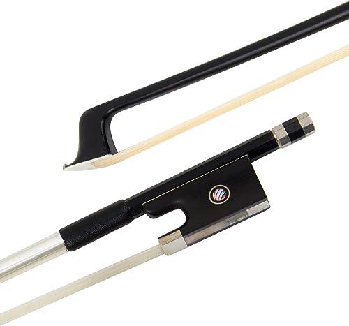 Violin Bow Carbon Fiber (4/4, Black)