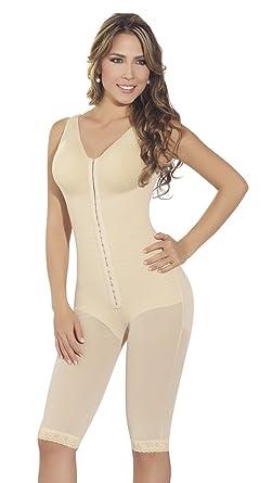596d4158a8 Fajas MyD F0120 Women s Girdle With Brassier Armhole Sleeves inferior  Zipper