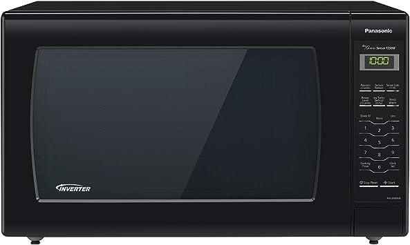 Panasonic Microwave Oven NN-SN936B Black Countertop with Inverter Technology and Genius Sensor, 2.2 Cu. Ft, 1250W