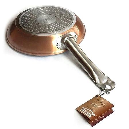 Menax Royal Chef - Sartén Profesional de Aluminio Forjado ...