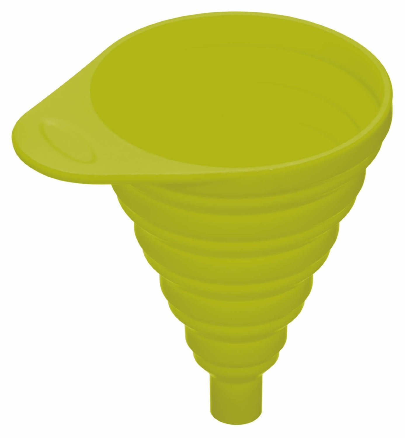 Yonger Foldable Silicone Funnel Collapsible Filter Funnel Resistant Hopper for Liquid Transfer