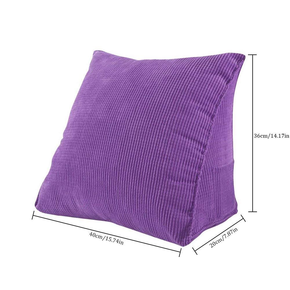 Diuspeed Cuscino triangolare con supporto per schienale divano e per il letto