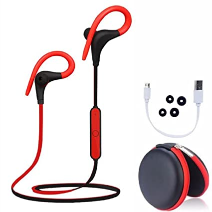 Topsse Wireless Bluetooth CSR Headset Sport Stereo Earphone Headphone Earbuds Universal